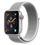Apple Watch Series 4 LTE 40mm in Silber mit Sport Loop für 383,44€ (statt 494€) – Prime in IT