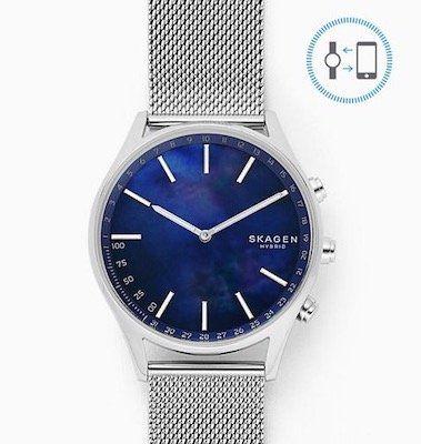 SKAGEN Holst Smartwatch mit Milanaise Armband für 58,65€ (statt 106€)   und viele mehr!