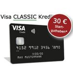 🔥 Schwarze Visa Kreditkarte komplett beitragsfrei + 30€ geschenkt + Apple Pay