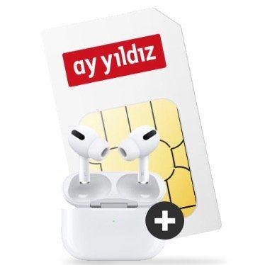 Apple AirPods Pro + o2 Allnet Flat von Ay Yildiz mit 12GB LTE für 14,99€ mtl.