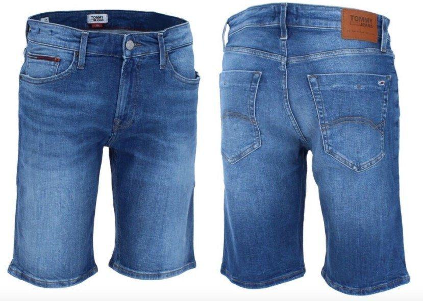 Tommy Hilfiger Herren Jeansshorts Scanton in Slim Fit für 39,99€(statt 55€)