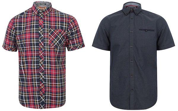 Tokyo Laundry Stretton Herren Kurzarm Hemden je 5,55€ + VSK (statt 19€)