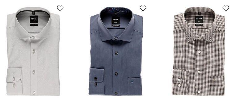 Olymp Hemden (Level 5, Luxor) für je 19,98€ inkl. Versand