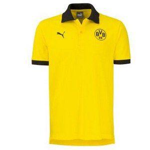 Puma BVB Borussia Dortmund Herren Polo Shirt in S bis XL für 14,08€ (statt 30€)