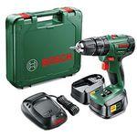 Bosch PSB 1800 LI-2 Akku-Bohrschrauber 18V + 2 Akkus + Koffer für 76,51€ (statt 94€)