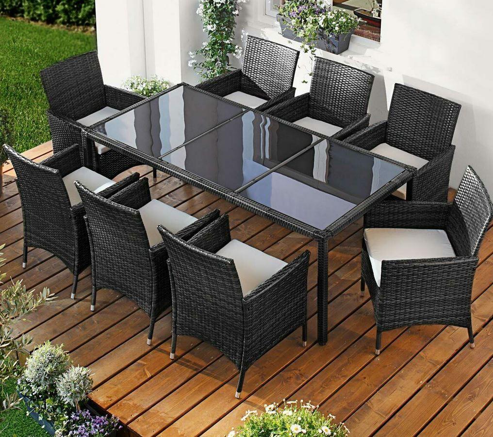 Brast Poly Rattan Garten Sitzgarnitur 4 Modelle für je 296,10€ (statt 377€)