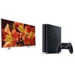 🔥 Sony KD-55XF8577 55″ 4K-Fernseher + PS4 Slim 500GB zusammen 897€ (statt 1.241€)