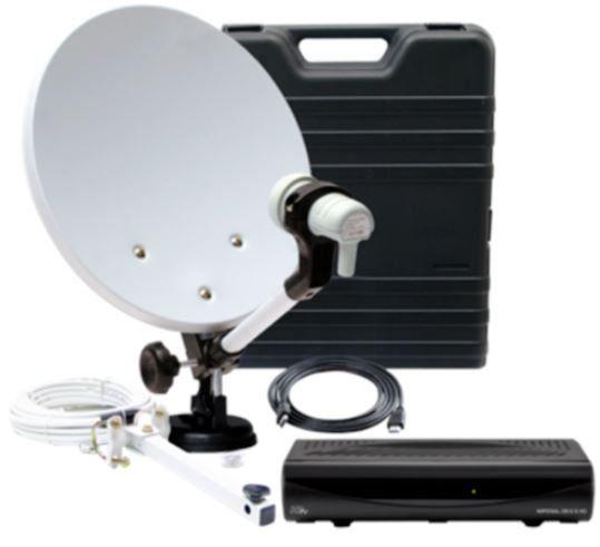 Telestar DB 6S HD Camping Satanlage im Koffer mit Receiver für 59,99€ (statt 90€)