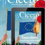 4 Ausgaben Cicero Print & Digital für 33,84€ + 33,84€ Verrechnungsscheck