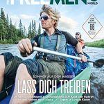 4 Ausgaben Free Men's World für 24,80€ + 15€ Verrechnungsscheck