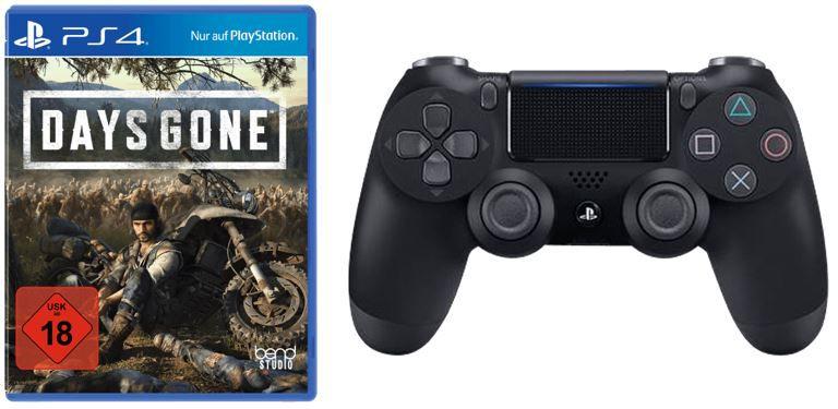 Days Gone PS4 + PlayStation 4 Dualshock Controller V2 für 74,99€ (statt 96,98€)