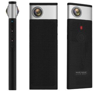 GOXTREME Live 360° Kamera in Schwarz/Silber für 44€ (statt 89€)