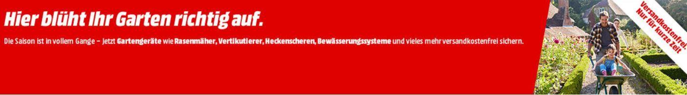 Media Markt Garten Geräte Aktion: z.B. BLACK+DECKER GTC1845L 18V Akku Heckenschere für 66€ (statt 77€)