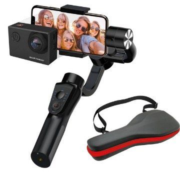 GoXtreme GX1 Dual Gimbal Halterung für Actioncam und Smartphone für 89,99€ (statt 114€)