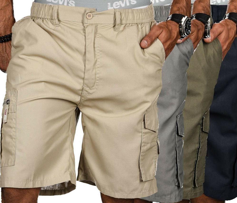 Golden Brands B413 Herren Shorts mit Dehnbund bis 3XL für 12,90€ (statt 16€)
