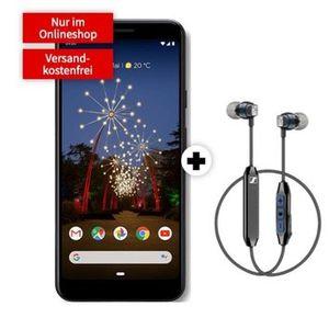 Knaller! Google Pixel 3a XL + Sennheiser Kopfhörer für 29€ + Vodafone Allnet Flat mit 2GB LTE für 16,99€ mtl.