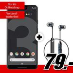 🔥 Google Pixel 3 XL + Sennheiser CX6 Kopfhörer für 79€ + Vodafone AllNet u. SMS Flat mit 6GB LTE für 21,99€ mtl.