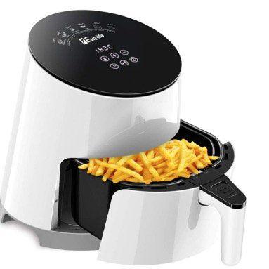 Heißluftfritteuse 1Easylife Fritteuse 3,5 Liter und 1500Watt für 49,44€
