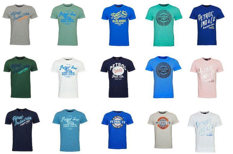 Petrol Industries SS18   Motiv T Shirts bis 3XL für je 13,49€ (statt 16€)
