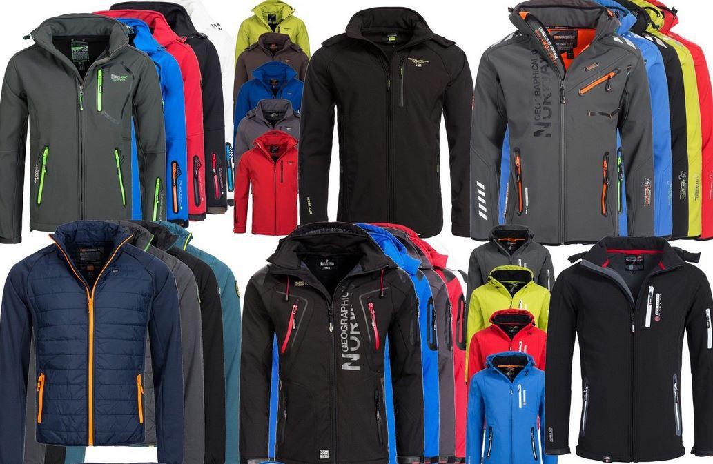 Geographical Norway Damen u. Herren Outdoor Softshell Funktions Jacken für 49,90€ (statt 70€)