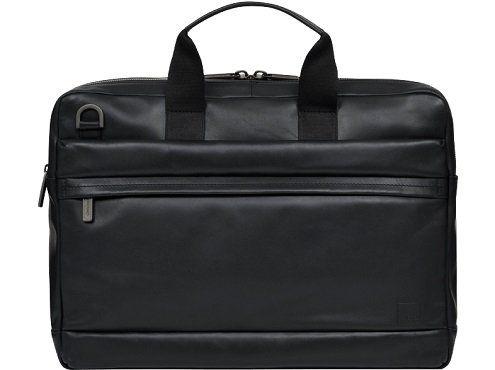 KNOMO Barbican Roscoe Aktentasche in schwarz und braun für 149€ (statt 199€)