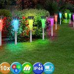 NoName LED Solar Garten Lampen Sets – 5 Varianten für je 23,50€