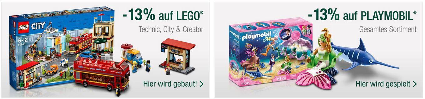 Galeria Kaufhof Sonntag: z.B. 13% Rabatt auf LEGO & Playstation City 10% Rabatt auf Haushalt Kleinelektro   20% auf Alles ab 100€