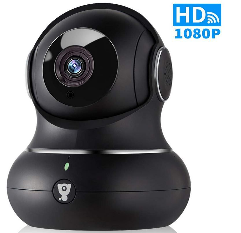 Littlelf WLAN IP Überwachungskamera Innen 1080P für 31,84€ (statt 49€)