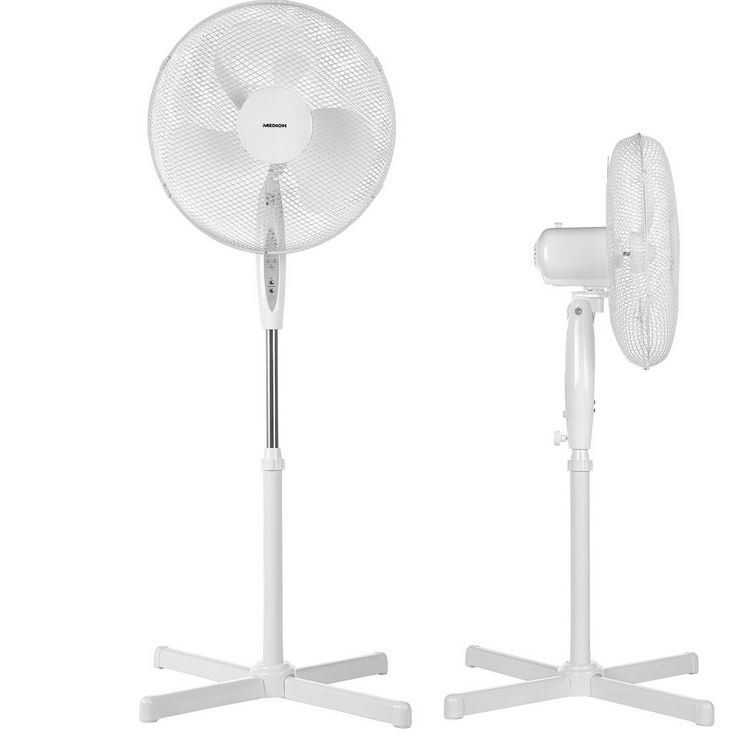MEDION MD 18795 Standventilator mit Fernbedienung und Timer für 24,99€ (statt 30€)