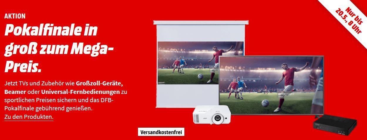Media Markt TV Audio und Zubehör Aktion: z.B. ACER (HD ready, 3D, 3300 ANSI Lumen) für 299€ (statt 354€)
