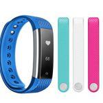NINETEC Fitnesstracker Smartfit F3HR mit Herzfrequenz + 3 Ersatzbänder für 19,99€ inkl. Versand (statt 30€)