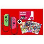 Nintendo Switch Joy-Con 2er-Set + 1 Spiel für 99€ (statt 118€) – dazu 20€ Mydays-Gutschein