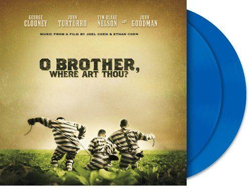 VARIOUS   O Brother Where Art Thou (blaue limitierte Version) als Vinyl für 19€ (statt 23€)