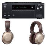 ONKYO TX-NR 696 Netzwerk-AV-Receiver + PIONEER S9 Over-ear Kopfhörer für 603,99€ inkl. Versand (statt 733€)
