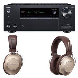 ONKYO TX NR 696 Netzwerk AV Receiver + PIONEER S9 Over ear Kopfhörer für 603,99€ inkl. Versand (statt 733€)