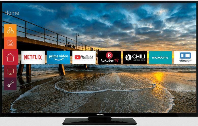 TELEFUNKEN D55U297N4CWHI   55 Zoll UHD smart TV für 388€ (statt 519€)
