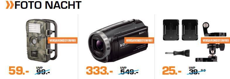 Saturn Late Night: günstige Foto Artikel, Navis und Drohnen   z.B. CULLMANNPanama Action 90 Kameratasche für 9€ (statt 21€)