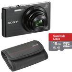 Sony Cyber-shot DSC-W830B mit 16GB SD Karte und Tasche für 71,91€ (statt 119€)