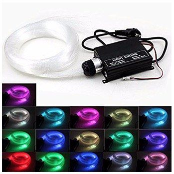 VINGO 16 Farben RGB LED Glasfaser Sternenhimmel dimmbar für 39,59€ (statt 72€)
