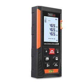 Tacklife HD 60 Laser Entfernungsmesser mit Messbreich von 0,05~60m/±2mm für 30,99€ (statt 48€)