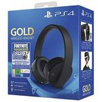 Ausverkauft! Sony PS 4 Wireless Headset Gold im Fortnite Neo Versa Bundle für 63,17€ (statt 84€)