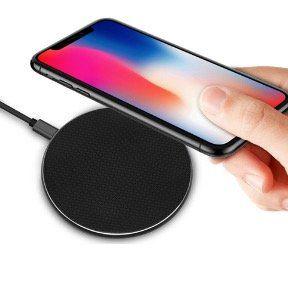 Qi Wireless Ladegerät S110 mit 10W und Schnellladebeleuchtung für 5,89€   Versand aus DE