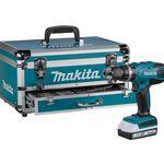 Makita HP457DWEX4 Akku Schlagschrauber mit 2 Akkus, Koffer, 70 Teile Zubehör für 199,95€ (statt 218€)