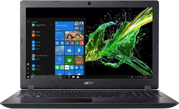 ACER Aspire 3 (A315 21 9875) Notebook mit 15.6, A9 Prozessor, 6GB RAM, 256GB SSD, Radeon R5 für 349€ (statt 444€)
