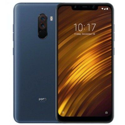 Xiaomi Pocophone F1   6,18 Zoll Smartphone mit 128GB in Blau für 239€ (statt 324€)
