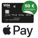 🔥 Endet heute: Schwarze Visa Kreditkarte komplett beitragsfrei (ein Leben lang) + 50€ geschenkt + Apple Pay fähig