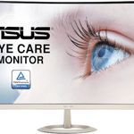 Asus VZ27VQ – 27 Zoll Full HD curved Monitor mit schmalem Rahmen für 139,99€(statt 157€)