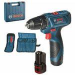 Bosch GSR 120-LI Professional inkl. 2x 1,5Ah Akkus + Ladegerät + Koffer für 79,90€ (statt 99€)