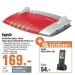 AVM Fritz!Box 7490 + Fritz!Fon C5 für 169€ (statt 209€)