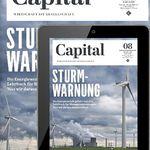 Capital Print + Digital Jahresabo für 112,20€ inkl. 85€ Amazon Gutschein